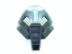 Part No: 32573pb01  Name: Bionicle Mask Huna with Pearl Light Gray Top (Tehutti)