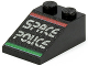 Part No: 3298pb010  Name: Slope 33 3 x 2 with Space Police II Pattern
