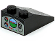 Part No: 3298pb033  Name: Slope 33 3 x 2 with Gauges, Horizon Screen, and Radio Pattern on Rear Face (Sticker) - Set 8213