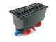 Part No: 3443c05  Name: Train Battery Box Car with Two Contact Holes, Red Switch Lever, Blue and Red Magnets, Red Wheels, and Black Roof