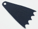 Part No: 35981  Name: Minifigure Cape Cloth, 7cm Long, Scalloped 5 Points (Batman) - Spongy Stretchable Fabric