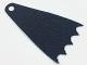 Part No: 35981  Name: Minifigure, Cape Cloth, 7cm Long, Scalloped 5 Points (Batman) - Spongy Stretchable Fabric