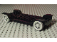 Part No: 3888c01  Name: Fabuland Car Chassis 14 x 6 without Hitch