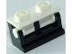 Part No: 3937c14  Name: Hinge Brick 1 x 2 Base with White Hinge Brick 1 x 2 Top (3937 / 3938)