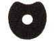 Part No: 39523  Name: Minifigure, Collar, Fur Effect