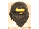 Part No: 40238  Name: Minifigure, Hair Beard - Giant (Hagrid)