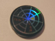Part No: 4150pb064  Name: Tile, Round 2 x 2 with Holographic Radar Type 1 Pattern (Sticker) - Set 7646