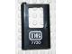 Part No: 4181pb019  Name: Door 1 x 4 x 5 Train Left with White 'DB 7730' Pattern (Sticker) - Set 7730