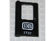 Part No: 4181pb023  Name: Door 1 x 4 x 5 Train Left with 'DB 7727' Pattern (Sticker) - Set 7727