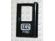 Part No: 4182pb019  Name: Door 1 x 4 x 5 Train Right with White 'DB 7730' Pattern (Sticker) - Set 7730