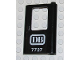 Part No: 4182pb023  Name: Door 1 x 4 x 5 Train Right with 'DB 7727' Pattern (Sticker) - Set 7727