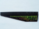 Part No: 42061pb19  Name: Wedge 12 x 3 Left with Holographic Circuit Pattern (Sticker) - Set 7646