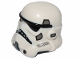 Part No: 42861pb02  Name: Minifigure, Headgear Helmet SW Stormtrooper, Dual Molded, White with Dark Bluish Gray Marks Pattern