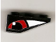 Part No: 4287pb001L  Name: Slope, Inverted 33 3 x 1 with Red Eye Left Pattern (Sticker) - Set 8277
