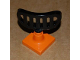 Part No: 4376c06  Name: Duplo Radar Array on 2 x 2 Orange Base (Set 7840)