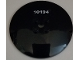Part No: 44375bpb05  Name: Dish 6 x 6 Inverted (Radar) - Solid Studs with White '10194' Pattern (Sticker) - Set 10194