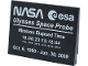 Part No: 4515pb067  Name: Slope 10 6 x 8 with NASA Ulysses Space Probe Pattern