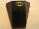 Part No: 47753pb015  Name: Wedge 4 x 4 No Top Studs with Batman Logo Pattern (Sticker) - Set 7780