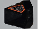 Part No: 47757pb19  Name: Wedge 4 x 4 Pyramid Center with Exo-Force Circuitry Pattern on Side (Sticker) - Set 8101