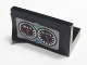 Part No: 4865pb048  Name: Panel 1 x 2 x 1 with Two Gauges and 'km/h' and 'RPM' Pattern (Sticker) - Set 8422