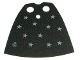 Part No: 522px1  Name: Minifigure, Cape Cloth, Standard with Stars Pattern