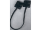 Part No: 5306b  Name: Electric, Wire with Brick 2 x 2 x 2/3 Pair (Undetermined Length)