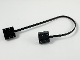 Part No: 5306bc026  Name: Electric, Wire with Brick 2 x 2 x 2/3 Pair,  26 Studs Long