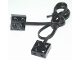 Part No: 5306bc069  Name: Electric, Wire with Brick 2 x 2 x 2/3 Pair,  69 Studs Long