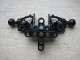 Part No: 53545  Name: Bionicle Toa Inika Upper Torso / Shoulders Section