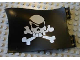 Part No: 54057pb01  Name: Duplo Flag Wavy 4 x 6 with Skull and Crossbones Pattern