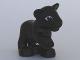 Part No: 54300cx3  Name: Duplo Panther Cub, Raised Paw