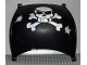 Part No: 54861pb01  Name: Duplo Boat Sail 11 x 12 with Skull and Crossbones Pattern