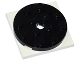 Part No: 60474c03  Name: Turntable 4 x 4 x 2/3 Top with White Square Base, Free-Spinning (60474 / 61485)
