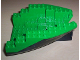 Part No: 6053c04  Name: Boat, Hull Small Stern 14 x 12 x 5 1/3, Top Color Green