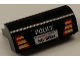 Part No: 6081pb023  Name: Brick, Modified 2 x 4 x 1 1/3 with Curved Top with 'POLICE', Taillights and Highway Patrol 'SG-8004' License Plate Pattern (Sticker) - Set 8665