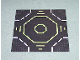 Part No: 6099p02  Name: Baseplate, Road 32 x 32 9-Stud Landing Pad with Green Octagon Pattern