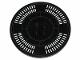 Part No: 6177pb015  Name: Tile, Round 8 x 8 with SW Darth Vader's Castle Floor Pattern (Sticker) - Set 75251