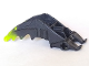 Part No: 61804pb01  Name: Bionicle Foot Mistika Clawed with Axle with Marbled Lime Talons