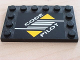 Part No: 6180pb004  Name: Tile, Modified 4 x 6 with Studs on Edges with Code Pilot Pattern (Sticker) - Set 8479