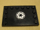 Part No: 6180pb019  Name: Tile, Modified 4 x 6 with Studs on Edges with SW Imperial Logo Pattern (Sticker) - Set 7672