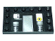 Part No: 6180pb083  Name: Tile, Modified 4 x 6 with Studs on Edges with Mechanical Pattern (Sticker) - Set 8156