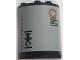 Part No: 6259pb040  Name: Cylinder Half 2 x 4 x 4 with Symbols and Orange Circle and Orange and Black Lines Pattern (Sticker) - Set 70615