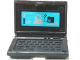 Part No: 62698pb10  Name: Minifigure, Utensil Computer Laptop with White and Black Items on Screen Pattern (Sticker) - Set 70165