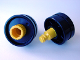 Part No: 6290c00  Name: Duplo, Toolo Wheel with Yellow Connector Pin
