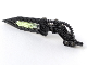 Part No: 64263pb03  Name: Bionicle Wing Angled with Hose and Glow In Dark Center (Atakus)