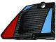 Part No: 64680pb004  Name: Technic, Panel Fairing #14 Large Short Smooth, Side B with Carbon Fiber Air Intake Pattern (Sticker) - Set 42036