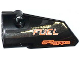 Part No: 64683pb008  Name: Technic, Panel Fairing # 3 Small Smooth Long, Side A with 'action FUEL', 'air/geer' and Chrome Stripes Pattern (Sticker) - Set 42026
