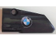 Part No: 64683pb053  Name: Technic, Panel Fairing # 3 Small Smooth Long, Side A with BMW Logo Pattern (Sticker) - Set 42063