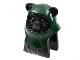 Part No: 64805pb04  Name: Minifigure, Head Modified SW Ewok with Dark Green Hood Pattern