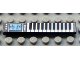 Part No: 6636pb014  Name: Tile 1 x 6 with Keyboard and Equalizer Display Pattern (Sticker) - Set 5942